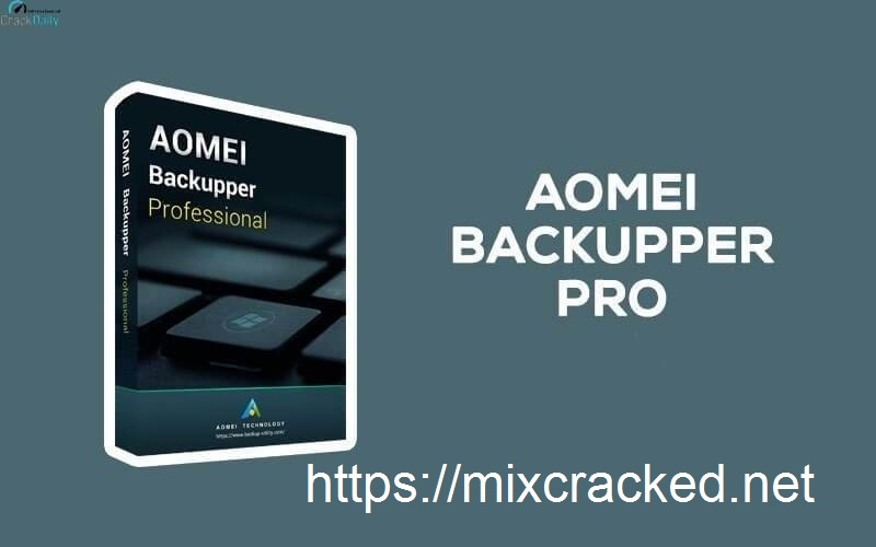 AOMEI Backupper Crack